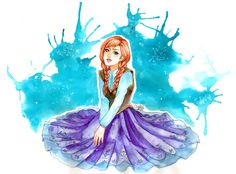 Anna from Frozen by utenaxchan on DeviantArt