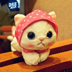 11.99$  Buy here - http://ali1p6.shopchina.info/1/go.php?t=32787629075 - 9'' ty beanie boos plush cat scarf cat plush toys doll Plush Stuffed Toys Glitter Eyes  #buymethat