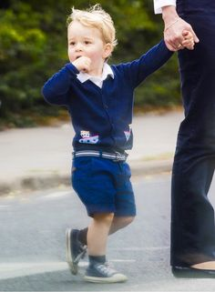 styleofaduchess: Prince George, July 12, 2015