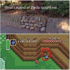 What Legend of Zelda taught me... HAHAHAHA YESSSSSSSSSSSSSSSSS