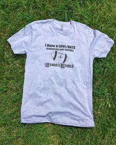 Men's Football T-shirt,Professional,College,High School,Relationship,Dad Football Shirt,Love Football,Fantasy Football,Pro Football,Season by FillYourLifeUp on Etsy https://www.etsy.com/listing/474640569/mens-football-t