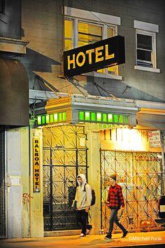 Balboa Hotel Tenderloin District, San Francisco Mitchell Funk   www.mitchellfunk.com