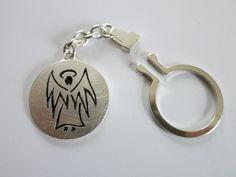 Schlüsselanhänger Schutzengel von Ars Argentum auf DaWanda.com