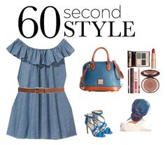 We love this outfit paired with the Dooney & Bourke Pebble Grain Bitsy Bag http://bit.ly/1JmmByv