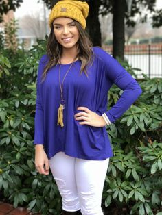 Royal Blue Piko