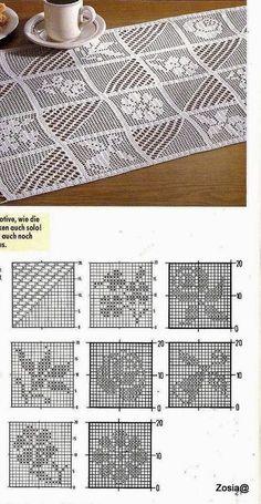 55 best Ideas crochet heart filet table runners Knitting For BeginnersKnitting HumorCrochet PatronesCrochet Scarf Crochet Table Runner Pattern, Crochet Doily Diagram, Filet Crochet Charts, Crochet Stitches Patterns, Crochet Squares, Thread Crochet, Crochet Motif, Crochet Doilies, Crochet Hats