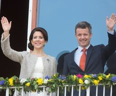 Princess Mary looks stunning at Queen Margarethe's 75th birthday celebrations:Mary and Frederik married in 2004 and have four children together.