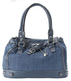 Nine West Pure Denim Satchel