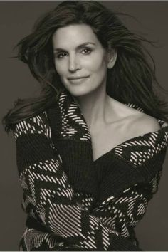 Cindy Crawford.  Inspired by her beauty.