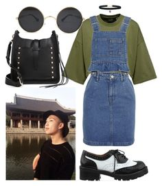 """""""date with Namjoon #1"""" by flaviaazevedo2000 ❤ liked on Polyvore featuring Steve J & Yoni P, Jeffrey Campbell, Rebecca Minkoff, date, kpop, bts, bias and Namjoon"""