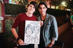 Christopher y Erick