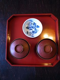 Japanese Urushi lacquer ware and old imari