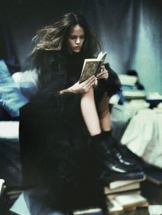 Freja Beha Erichsen in Vogue Italia November 2007 by Paolo Roversi