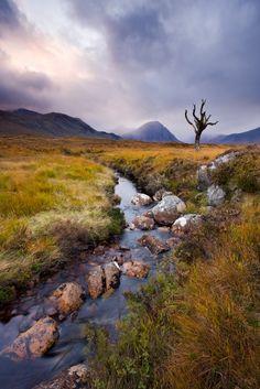 Rannoch Moor, West Highland Way, Scotland