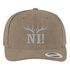 Monty Python Ni Brushed Embroidered Cotton Twill Hat