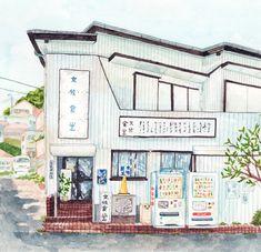 Justine-Wong-Illustration-21-Days-in-Japan-Kamakura-Diner.jpg