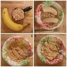 2-Ingredient Healthy Oat Cookies - The Body Department