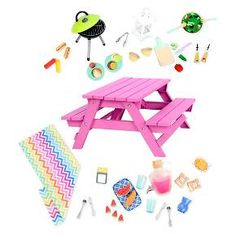 Our Generation® Picnic Table Set : Target