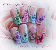 Folk art nail art