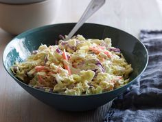 BBQ Side Dish Recipes: Coleslaw, Baked Beans, Cornbread & More : Cooking Channel Side Dishes For Bbq, Side Dish Recipes, Dinner Recipes, Delicious Recipes, Vegan Recipes, All You Need Is, Tyler Florence Recipes, Food Network Recipes, Cooking Recipes