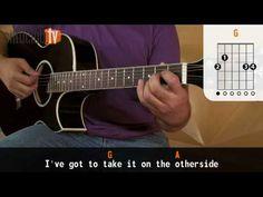Otherside - Red Hot Chili Peppers (aula de violão simplificada)