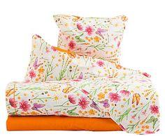 Juego de sábanas de algodón Doreen, 4 piezas - cama de 150