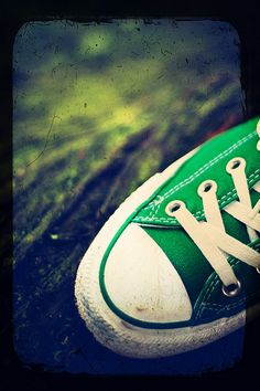 LOVE my green Chucks