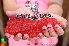 glitter goo