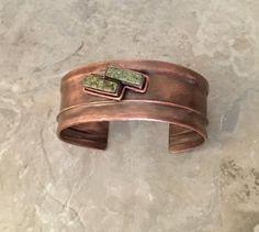Copper Cuff, Copper Bracelet, Copper Metal, Metal Bracelets, Metal Jewelry, Cuff Bracelets, Handmade Copper, Handmade Sterling Silver, Sterling Silver Earrings