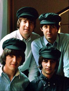 The Beatles....John Lennon, Paul McCartney, George Harrison, and Richard Starkey