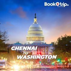 Cheap Flights from Chennai to Washington DC, Travel for less with BookOtrip. Exclusive phone only flight deals on Chennai to Washington DC Flight tickets. Cheap Air Tickets, Cheap Flight Tickets, Airline Tickets, Air India Express, Washington Dulles International Airport, Book Flight Tickets, Book Cheap Flights, Travel Flights