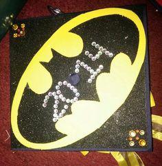 My personal Batman Grad Cap
