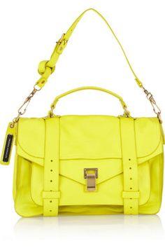 Yellow #yellow Bag #ProenzaSchouler