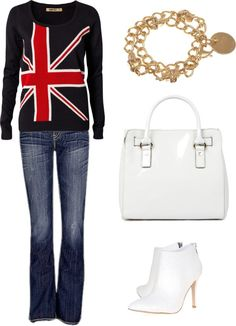 """Casual Day"" by alagarra on Polyvore"