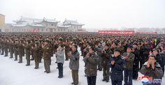 조선로동당의 령도밑에 국가핵무력완성의 력사적대업, 로케트강국위업을 빛나게 실현한 위대한 대승리를 경축하는 군민련환대회 시, 군들에서 진행-