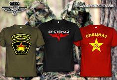 Camisetas Spetsnaz. Camisetas Militares. www.paracamisetas.com