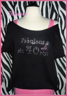 Fabulous At 40 Rhinestone Birthday Shirt Its My 30 By Thirstees 1999 Birthdaybling