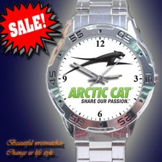 Arctic Cat Snowmobiles Snow Cats Sport Watch by customestore, $19.99
