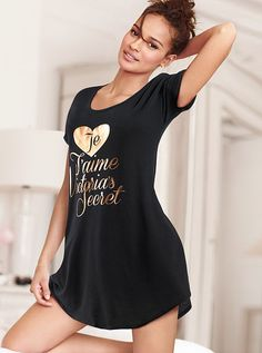 The Angel Sleep Tee by Victoria's Secret- Love these they are so comfortable have them in many colors!