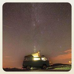 Liked on InstaGram: Bon weekend ✨ #lesaventuresdenestor #combi #westfalia #vwbus #campervan #vanlife #skyporn #milkyway #stars #etoile #light #night #nuit #latergram #javouecettephotonestpaspriseavecmoniphone #park4night :-) @vanlifers @vanlifeproject @vwcamper