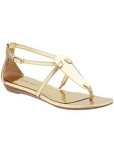 Bridesmaid shoe? in gold (beige also available)