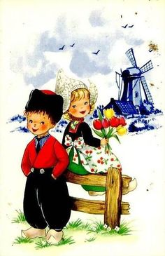 Carte folklore (enfants)