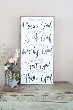 Moments With God Sign, Happy Moments Praise God, Difficult Moments Seek God, Every Moment Thank God Bible Verse Wall Art, Scripture Sign Scripture Signs, Bible Verse Wall Art, Scripture Crafts, Diy Signs, Wall Signs, Cactus Photography, Cactus Wall Art, Paper Cactus, Happy Moments