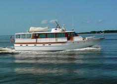 1973 Trumpy - Very Last Built Power Boat For Sale - www.yachtworld.com