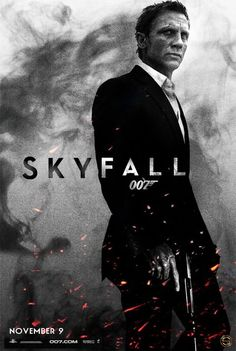 Skyfall is where we start. A thousand miles and poles apart.