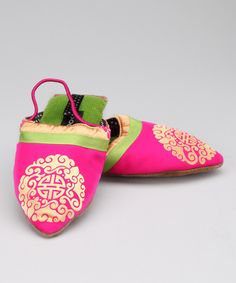 Pink Medallion Slipper from Goody Goody on #zulily