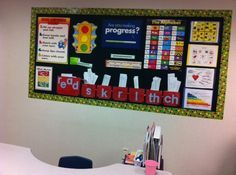 Great speech board - also like to have each kid get there own personal folder/notebook as they come in... be organized!