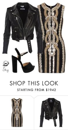 """Briefly"" by skyl19 ❤ liked on Polyvore featuring Balmain"