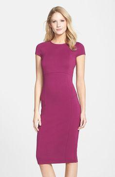 FELICITY & COCO Seamed Pencil Dress (Nordstrom Exclusive) (Regular & Petite) | Nordstrom