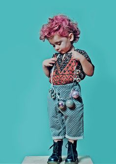 Go Funky ! - Studio Pink Wings - Kreatywne studio fotografii i stylizacji dziecięcej.
